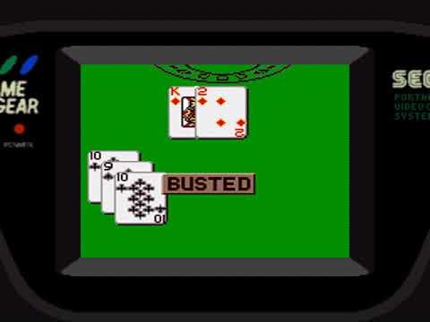 Game Gear Longplay [390] Poker Faced Paul's Blackjack: Atlantic City