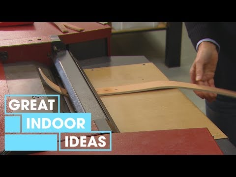 How to Make a Leather Belt   Indoor   Great Home Ideas