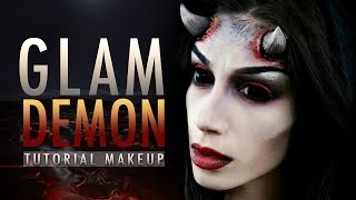 GLAM DEMON - Halloween Makeup Tutorial