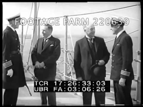 1938, England: USS Nashville, Gold Bullion 220639-04   Footage Farm