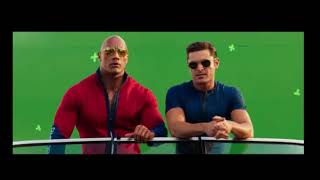 Behind the Scenes  & Bloopers of Baywatch (2017) (funny)