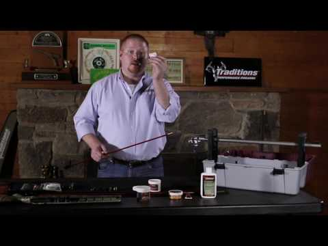 Traditions Firearms Video Series - How to Clean Your Traditions Bolt Action Muzzleloader