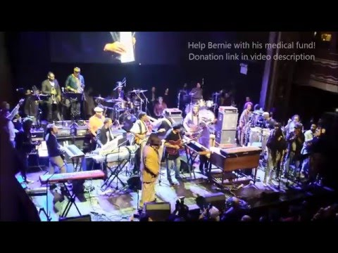 FLASH LIGHT ♫ Bernie Worrell, Bootsy, George Clinton reunion! 4/4/16