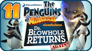 Penguins of Madagascar Dr Blowhole Returns Again Walkthrough Part 11 (PS3) 100% Dr. Blowhole's Base