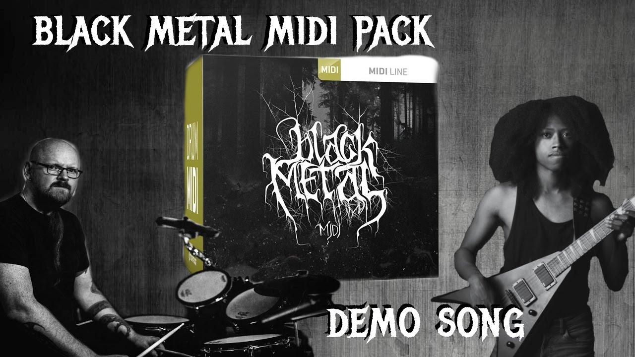 toontrack black metal midi pack download