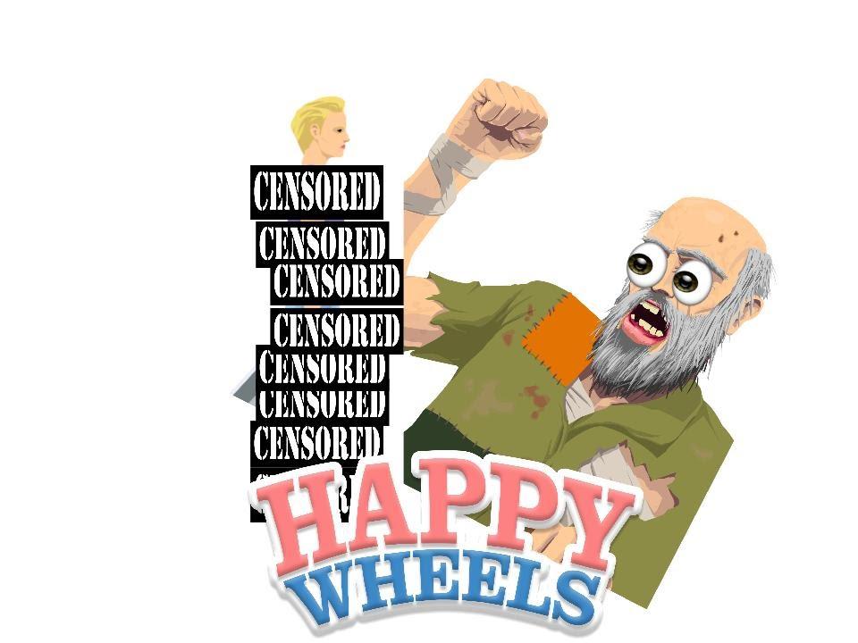 DESTROYING NAKED GLITCHES || Happy Wheels #5 - YouTube