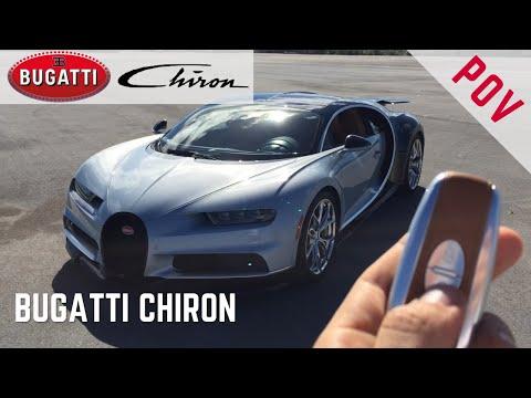 Bugatti Chiron – Encendido