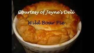 Wild Boar Pie (stew)