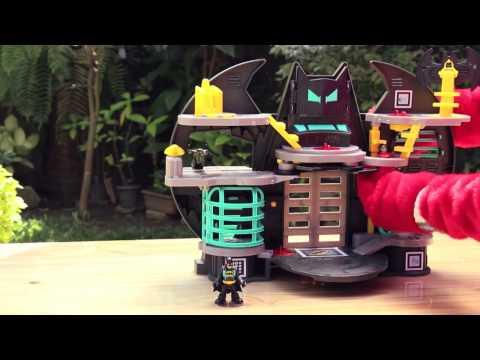 Sugestões de Presentes para o Dia das Crianças - Batcaverna Imaginext da Mattel