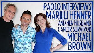"Marilu Henner & husband Michael Brown on their love story, beating cancer & ""Changing Normal"""