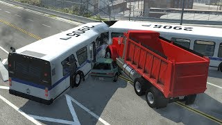 Bus Crush 3 | BeamNG.drive