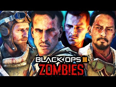 BLACK OPS 3 ZOMBIES: FULL MOVIE - ALL STORYLINE CUTSCENES INTRO & OUTRO! (BO3 Zombies Storyline)