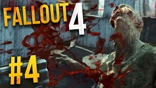 Fallout 4 Gameplay - Part 4 - FERAL GHOUL HORDE ★ Let