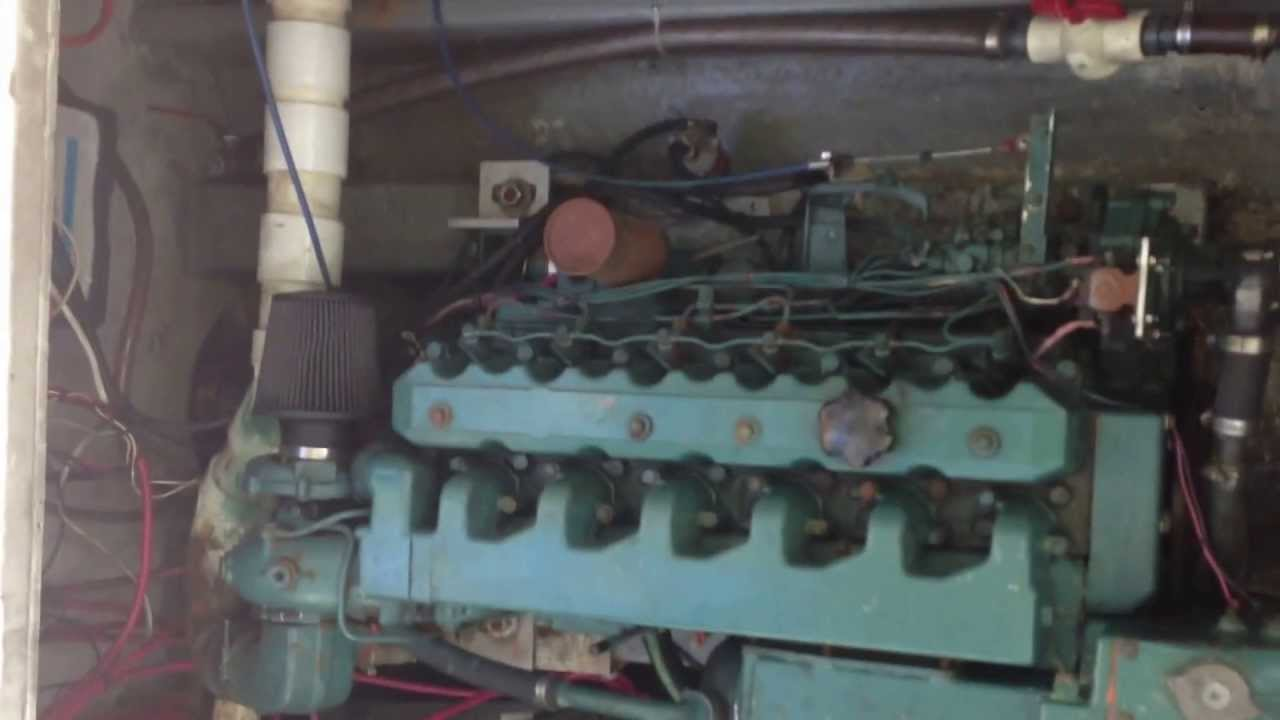 Volvo Tmd40asel Engine Startup