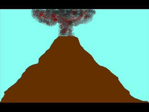 Volcano animation - Prai - YouTube