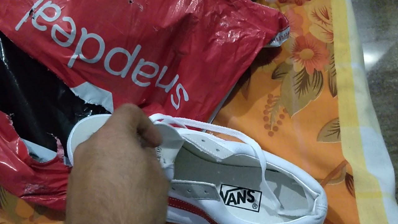 18ae9145f1b Fake vans sold on Snapdeal for which I paid 1400 rs
