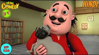 Buzo Ko Bachana Hai - Motu Patlu in Hindi - 3D Animated cartoon series for kids