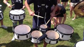 Marszowa sekcja perkusyjna   MOD Kleszczów