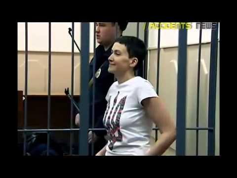 The court extended the arrest of Ukrainian pilots Nadezhda Savchenko 02/10/2015 93