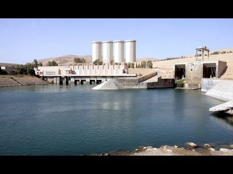New airstrikes target Islamic State fighters at Iraq dam