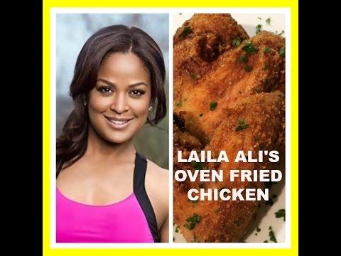 Laila ali oven fried chicken recipe