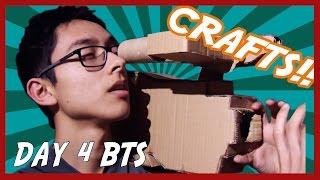 I BUILT A CARDBOARD CAMERA | Day 4 BTS