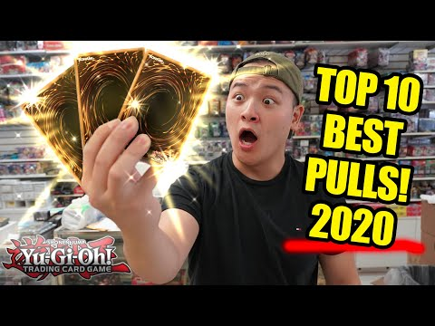 *FINALLY!* My Top 10 BEST Yu-Gi-Oh! Cards Pulls (2020)