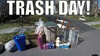TRASH PICKING DAY Finding FREE Treasures Left Out For GARBAGE!