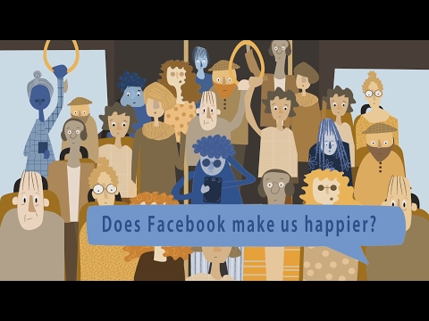 The Impact of Facebook on Social-Comparison and Happiness: Evidence from a Natural experiment