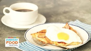 Fried Egg And Bacon Puff Pastry Squares - Everyday Food With Sarah Carey