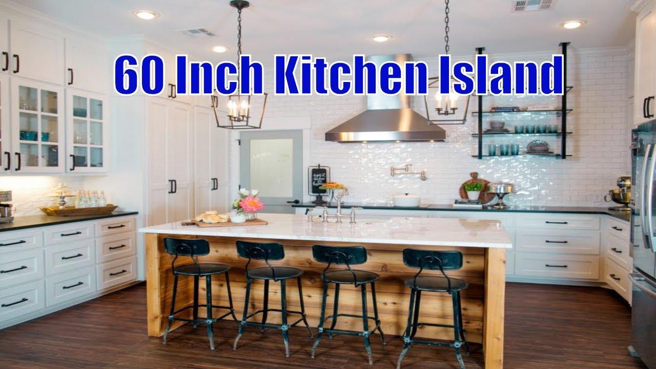 kitchen island 60 inch kitchen island 2019 youtube. Black Bedroom Furniture Sets. Home Design Ideas