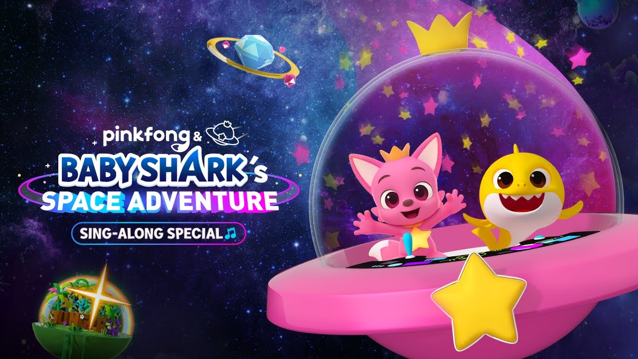 [Trailer] Pinkfong & Baby Shark's Space Adventure Sing-along Special (60 secs)
