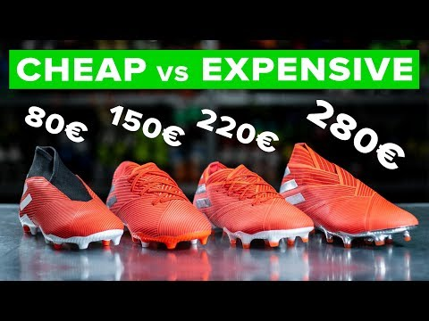 228fe027a CHEAP vs EXPENSIVE | All adidas Nemeziz 19 football boots explained -  YouTube