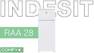 видеодемонстрация холодильника indesit raa 28 от comfy