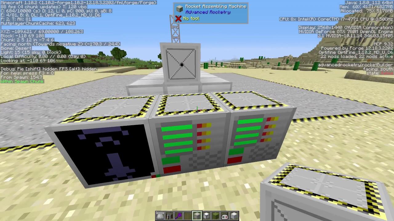 Advanced Rocketry - Mods - Minecraft - CurseForge