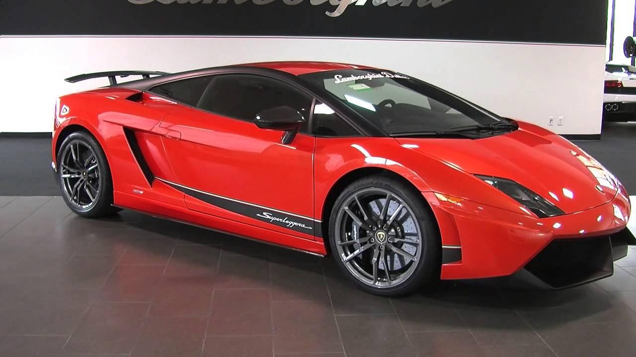 2013 Lamborghini Gallardo Lp570 4 Superleggera Coupe Youtube