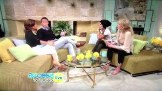 Courtney Love Chants Daimoku on Access Hollywood Live