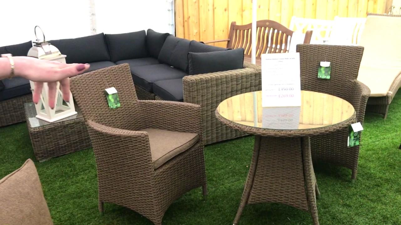 morale garden furniture range