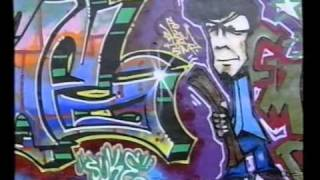 Berlin Graffiti: True 2 The Game Magazine + Backjumps-Poster / Stylewars Jam @ VIVA Freestyle 1995