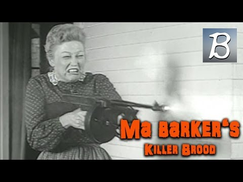 Ma Barker's Killer Brood (Gangster Film, English Language) *