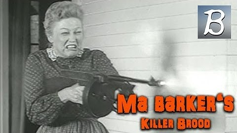 Ma Barker's Killer Brood (Gangster Film, English Language) *watch full length movies on youtube*