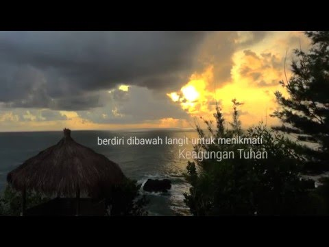 Pantai Menganti Kebumen - Senyum Ceria Untuk Indonesiaku Tercinta