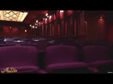Aladdin London - A look inside the Prince Edward Theatre