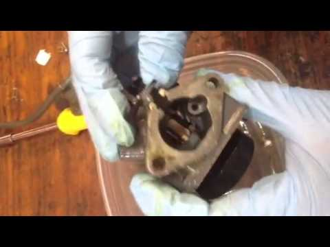 honda hp outboard carburetor cleaning part  youtube