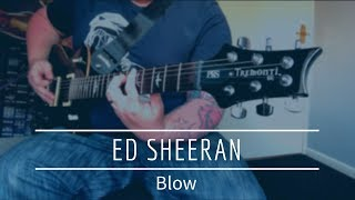 Gambar cover Ed Sheeran - Blow Guitar Cover (Chris Stapleton & Bruno Mars)