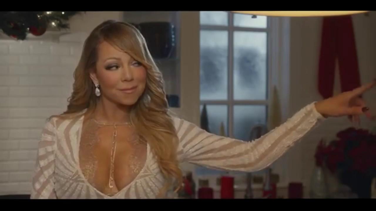 Mariah Carey Acting In Keys Of Christmas - YouTube