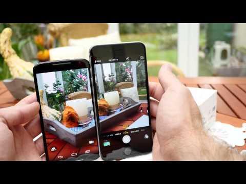 Apple iPhone 6 Plus vs. Motorola Moto X (2. Gen) [4K]