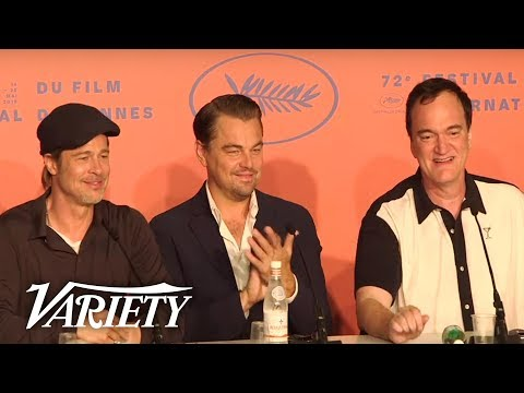 &39;Once Upon A Time In Hollywood&39; Press Conference - Cannes Film Festival