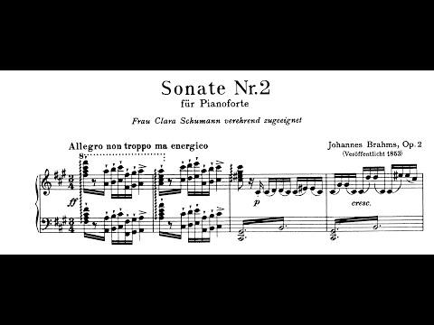 Brahms: Sonata No.2 in F-sharp minor, Op.2 (Zimerman)