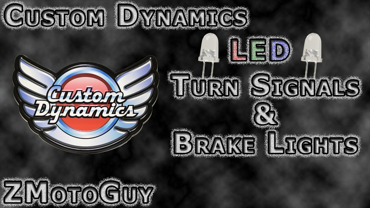 maxresdefault custom dynamics led's installed on a harley davidson breakout Basic Turn Signal Wiring Diagram at metegol.co